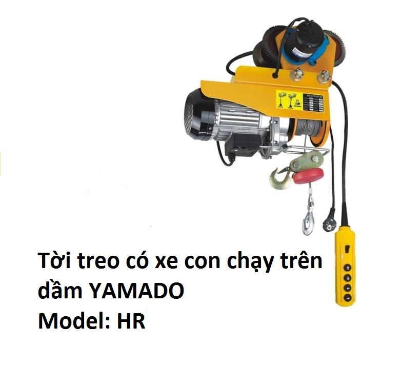 Tời có xe con HR - Yamado