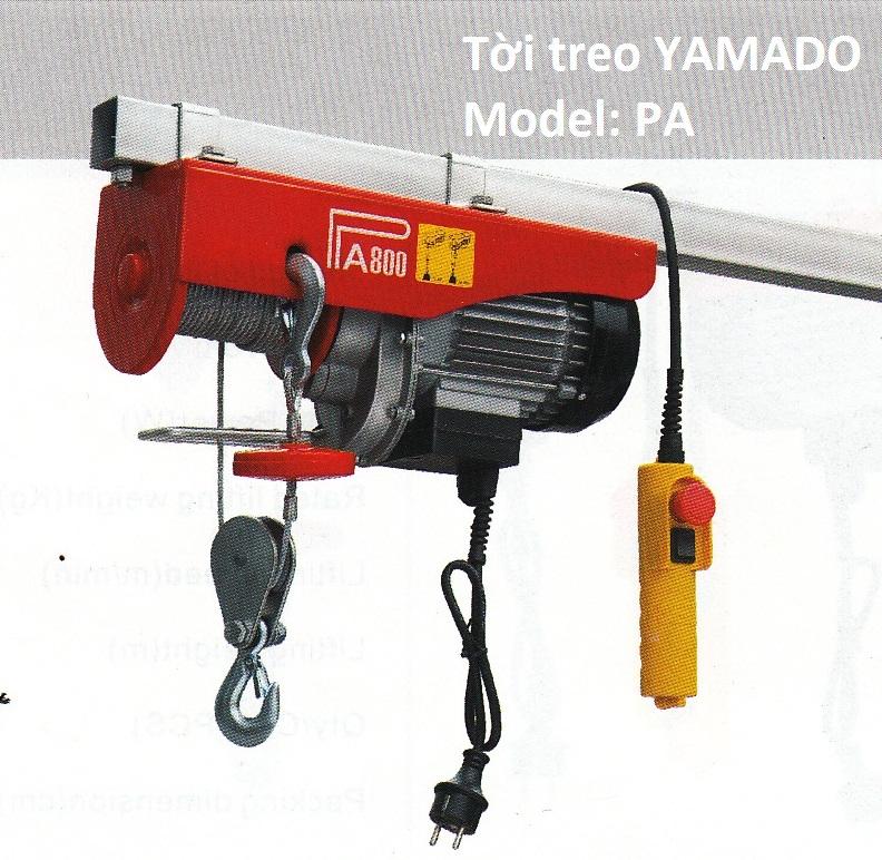 Tời treo PA - Yamado